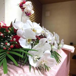 棺上のお花